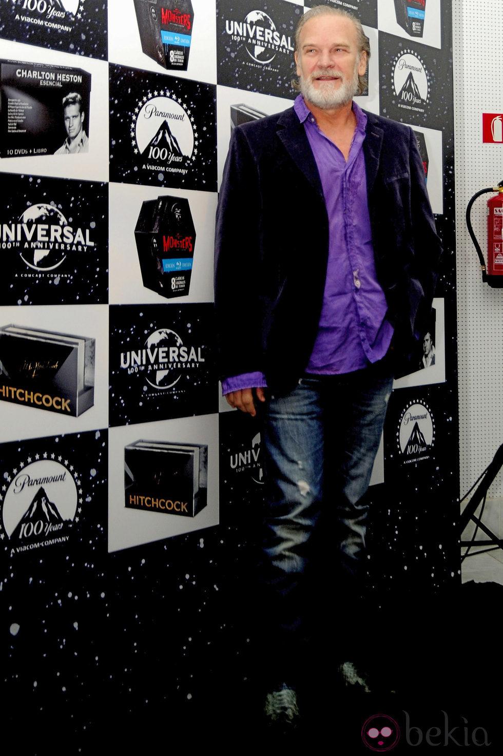 Lluis Homar en el aniversario de Paramount y Universal