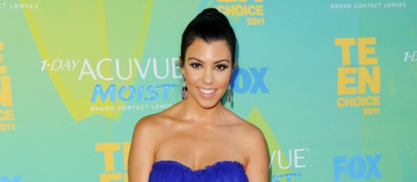 Kourtney Kardashian en los Teen Choice Awards 2011