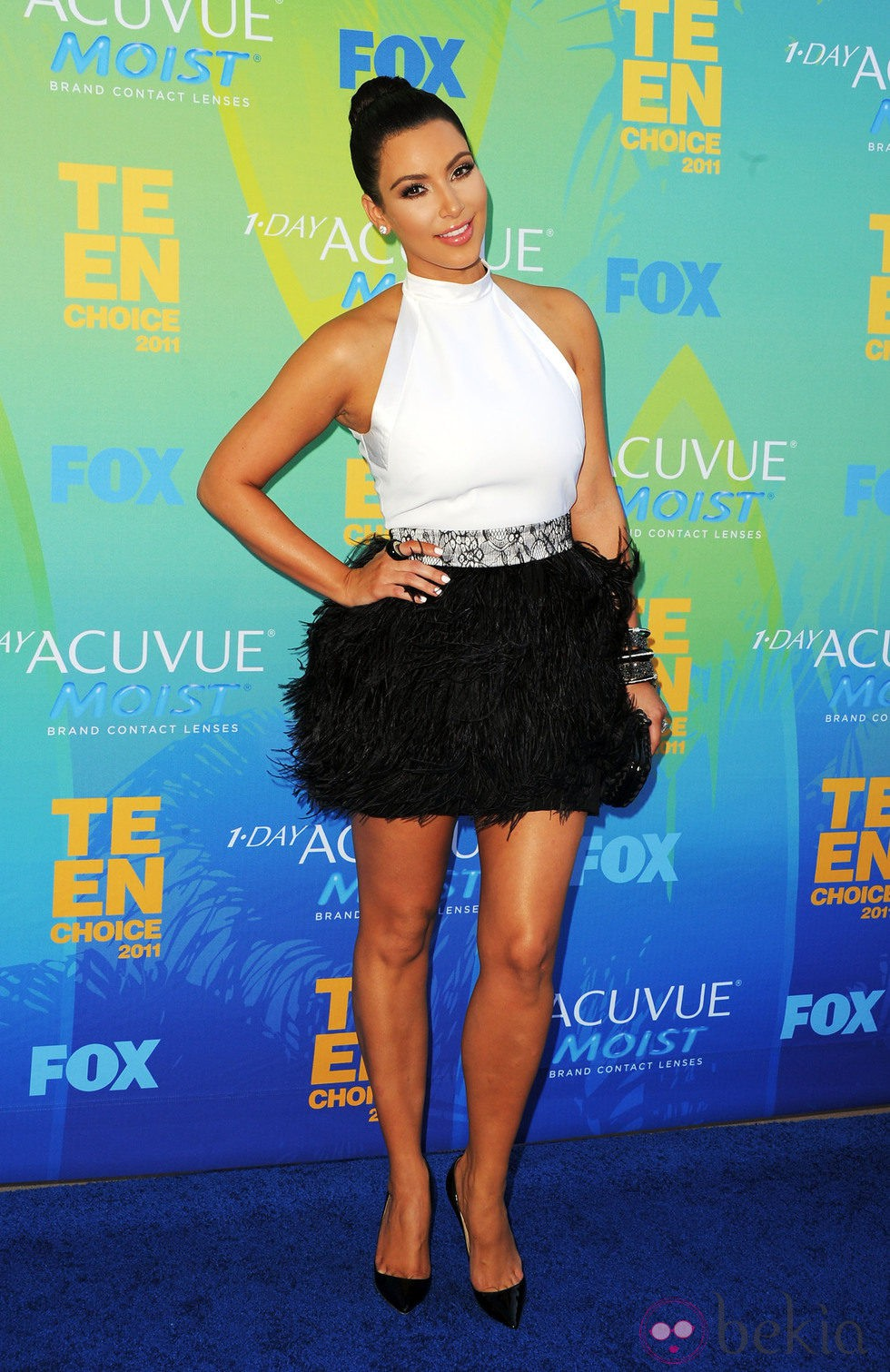 Kim Kardashian en los Teen Choice Awards 2011: Fotos en Bekia