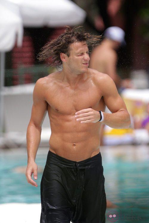 Diego Forl N Durante Sus Vacaciones En Miami