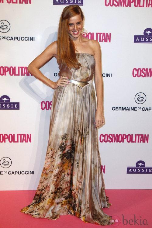 María Castro en los Premios Cosmopolitan Fun Fearless Female 2012