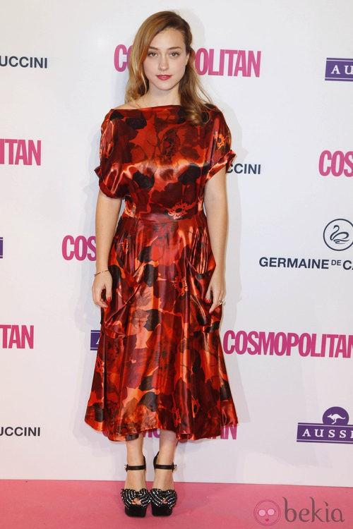 Ángela Cremont en los Premios Cosmopolitan Fun Fearless Female 2012