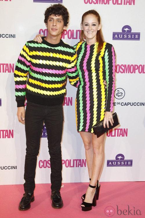 Ana Polvorosa y Eduardo Casanova en los Premios Cosmopolitan Fun Fearless Female 2012