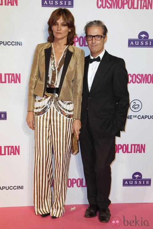 Laura Ponte en los Premios Cosmopolitan Fun Fearless Female 2012
