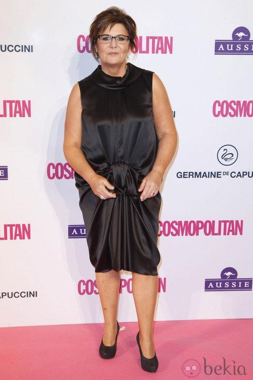 María Escario en los Premios Cosmopolitan Fun Fearless Female 2012