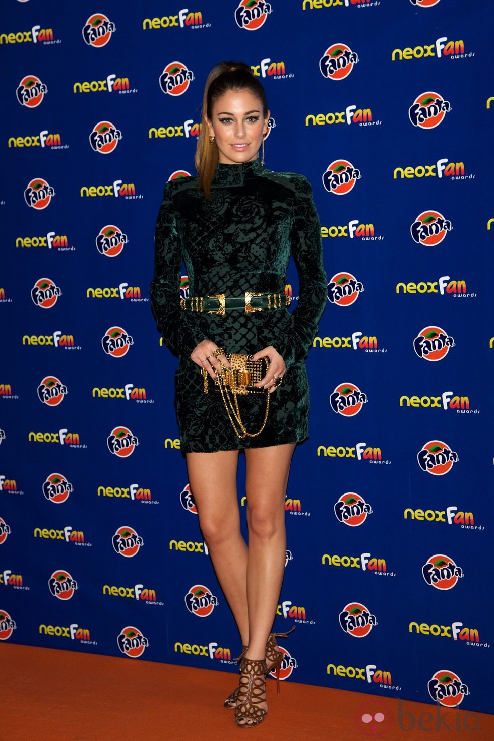 Blanca Suárez en los Neox Fan Awards 2012