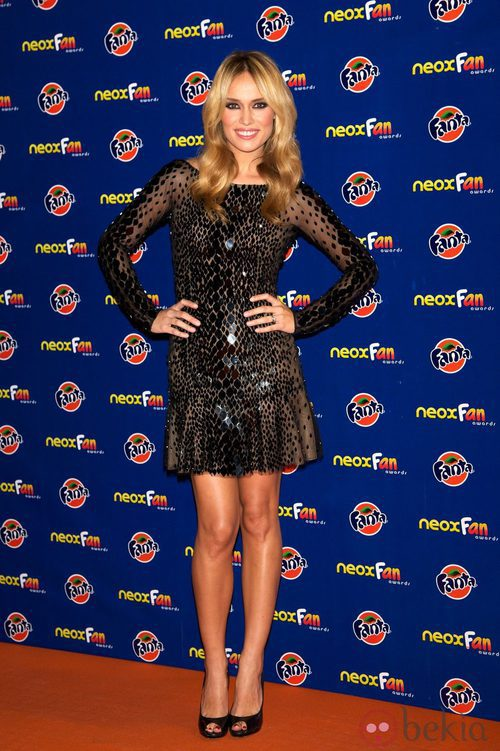 Patricia Conde en los Neox Fan Awards 2012