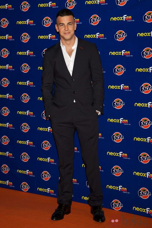 Mario Casas en los Neox Fan Awards 2012