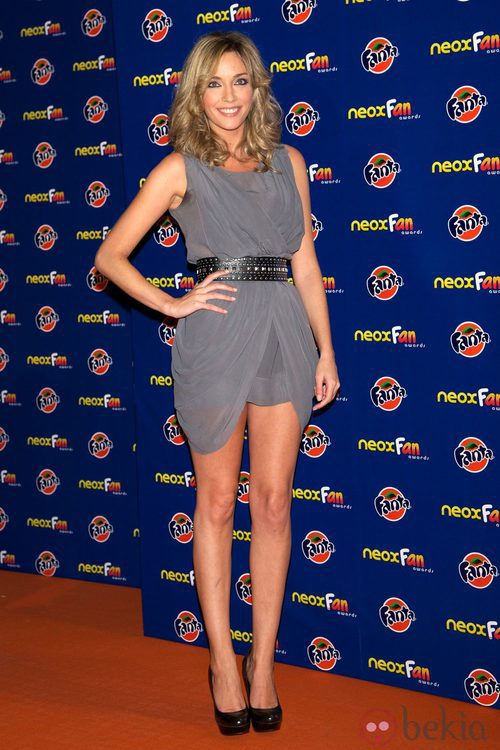 Anna Simón en los Neox Fan Awards 2012