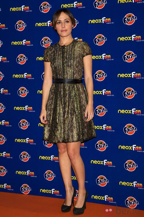 Irene Montalá en los Neox Fan Awards 2012