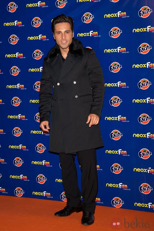 David Bustamante en los Neox Fan Awards 2012