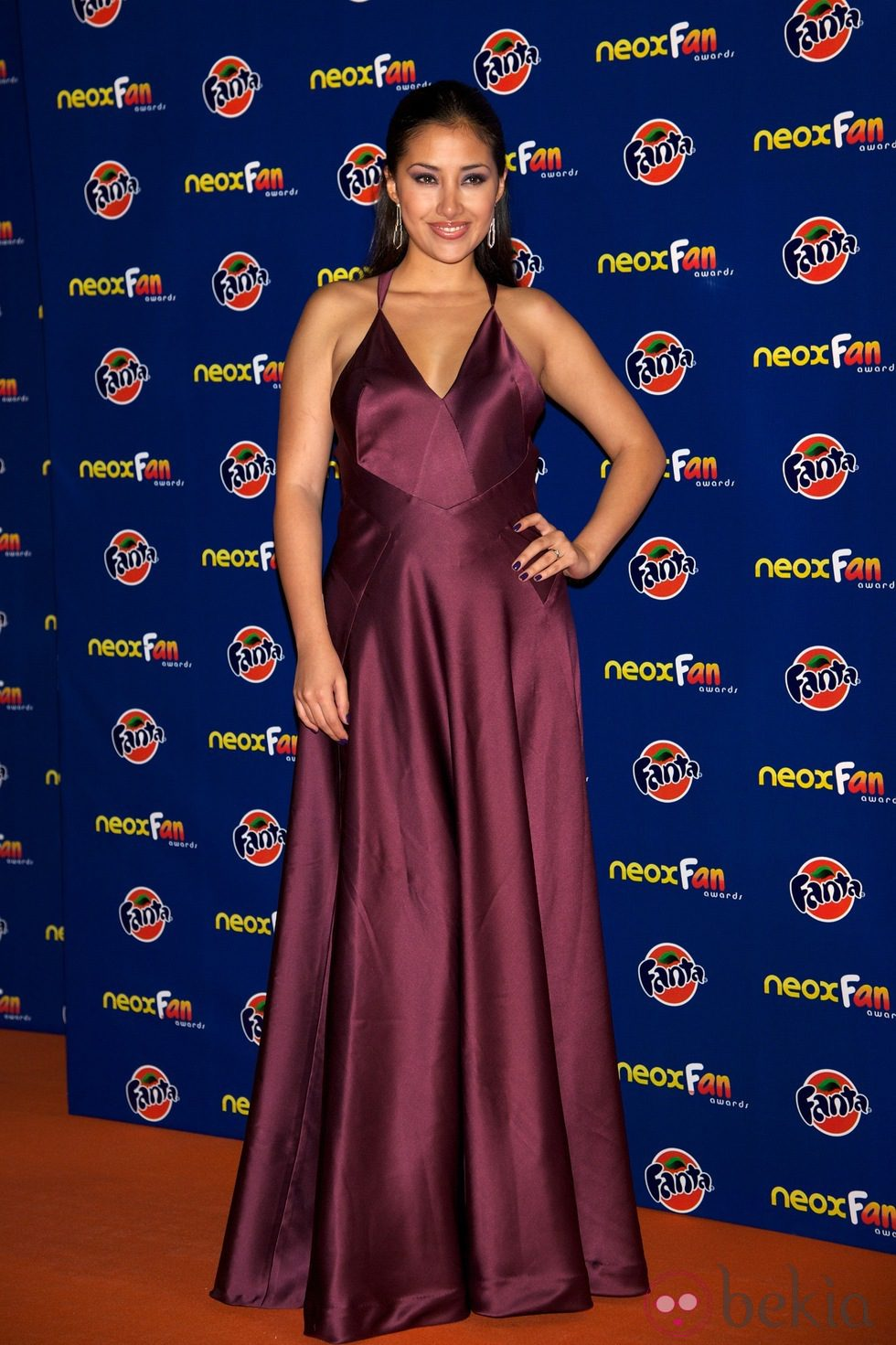 Giselle Calderón en los Neox Fan Awards 2012
