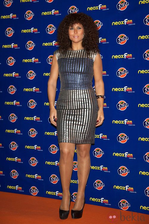 Rosa López en los Neox Fan Awards 2012