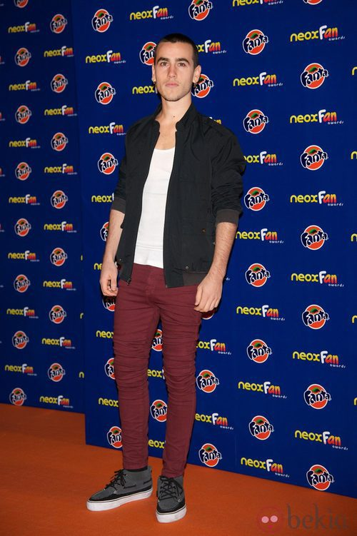Alex Monner en los Neox Fan Awards 2012
