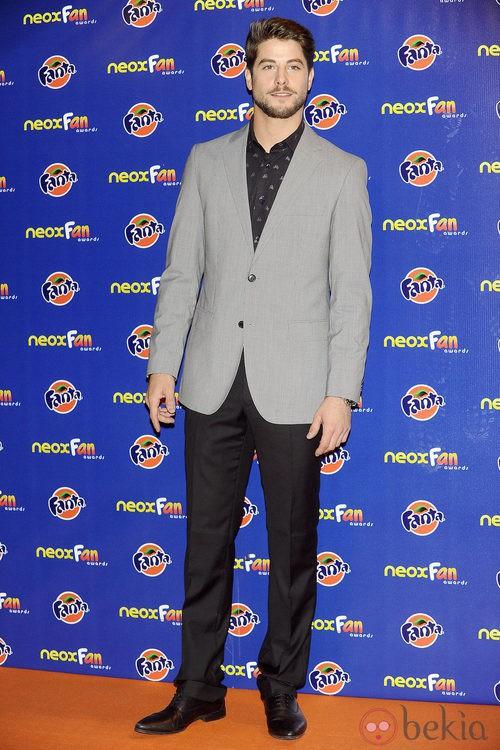 Luis Fernández en los Neox Fan Awards 2012