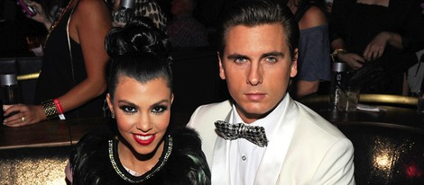 Kourtney Kardashian y su novio Scott Disick