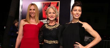 Toni Collette, Helen Mirren y Jessica Biel en el estreno de 'Hitchcock' en Los Angeles