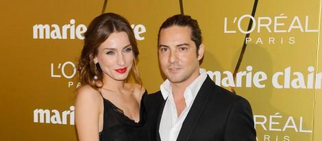 David Bisbal y Raquel Jiménez en los Premios Prix de la Moda de Marie Claire 2012