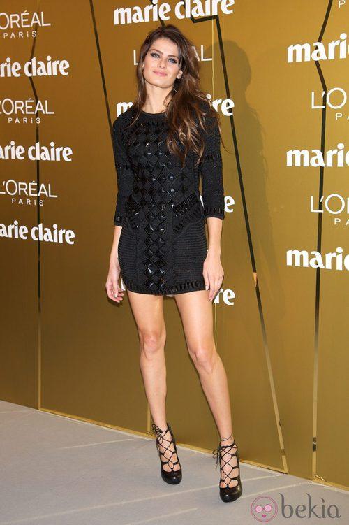 Isabeli Fontana en los Premios Prix de la Moda de Marie Claire 2012