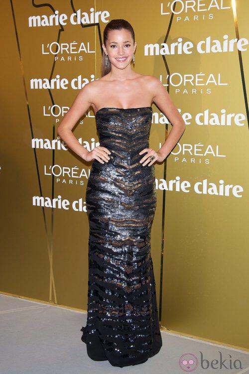 Malena Costa en los Premios Prix de la Moda de Marie Claire 2012