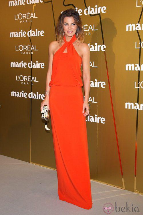 Mar Flores en los Premios Prix de la Moda de Marie Claire 2012