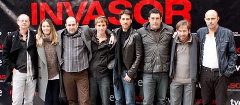El reparto de 'Invasor' presenta la película en Madrid