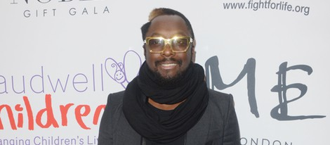 Will.i.am en la Noble Gift Gala 2012 celebrada en Londres