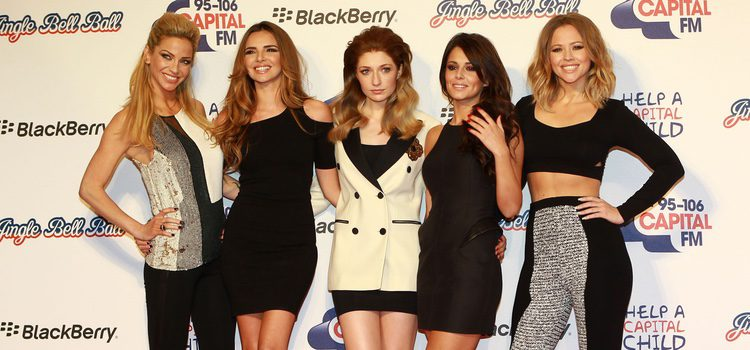 Girls Aloud en el concierto Jingle Ball 2012 de Londres