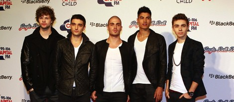The Wanted en el concierto Jingle Ball 2012 de Londres