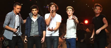 One Direction en el concierto Jingle Ball 2012 de Nueva York