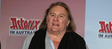 Gérard Depardieu en la premiere de 'Asterix y Obelix'