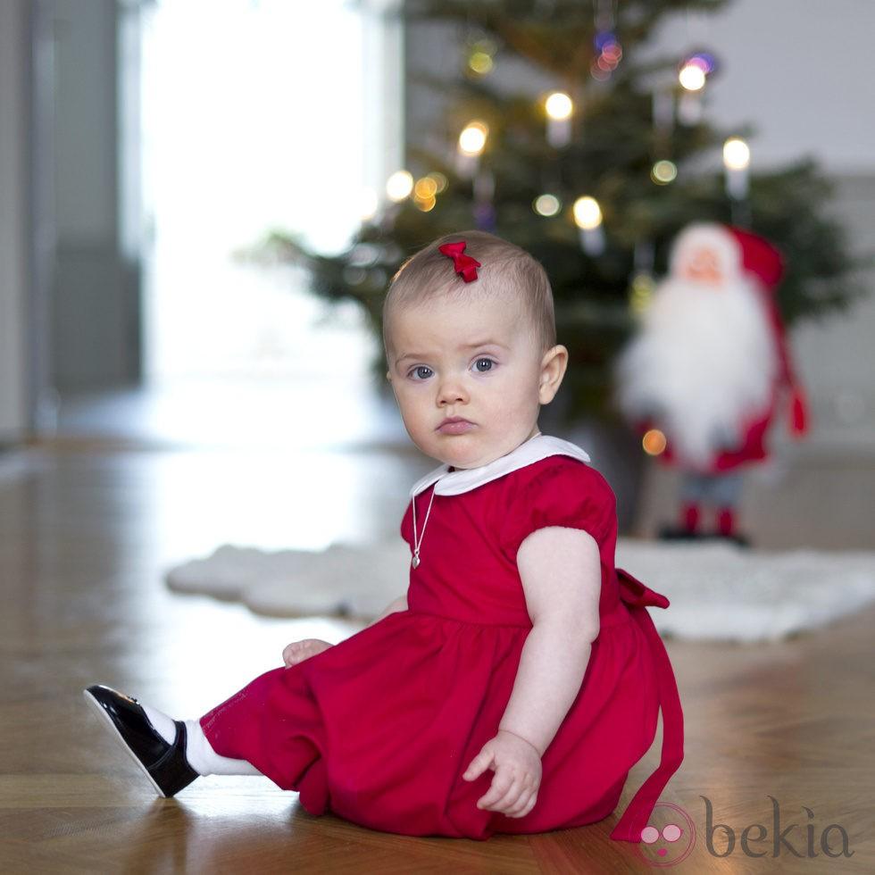 La Princesa Estela de Suecia desea Feliz Navidad 2012
