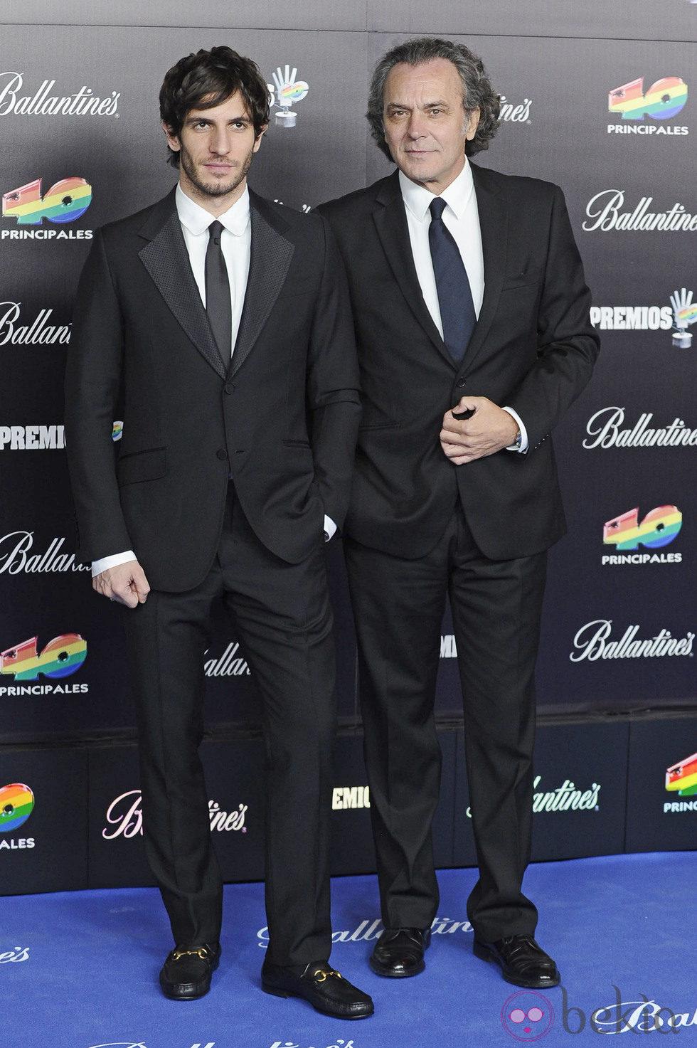 ¿Cuánto mide Quim Gutiérrez? 34544_quim-gutierrez-jose-coronado-gala-premios-40-principales-2012