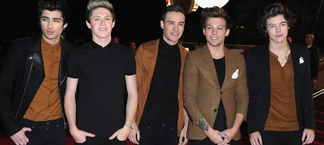 One Direction en los NRJ Music Awards 2013