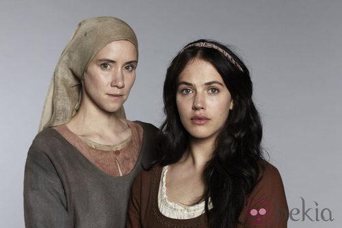 Findlay y Lena Dörrie de la miniserie 'El Laberinto': Imágenes de la