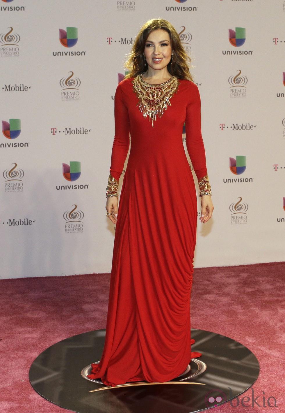 Thalía en los Premios Lo Nuestro 2013