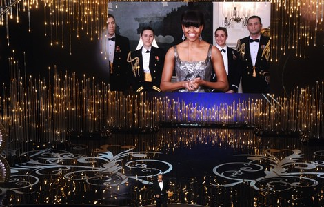 Oscars 2013, Oscar, Hollywood, Michelle Obama, cinema, film, United States, White House, awards