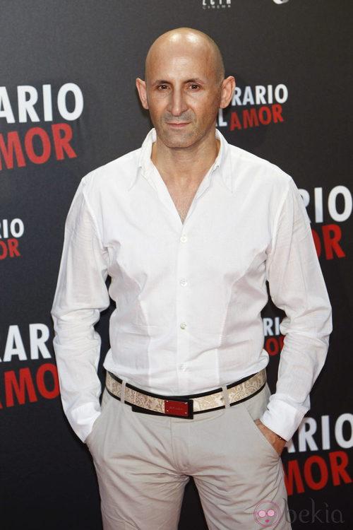Modesto Lomba en el estreno de 'Lo contrario al amor' en Madrid