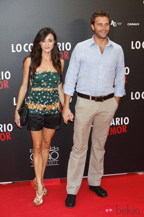 Fernando Gil en el estreno de 'Lo contrario al amor' en Madrid