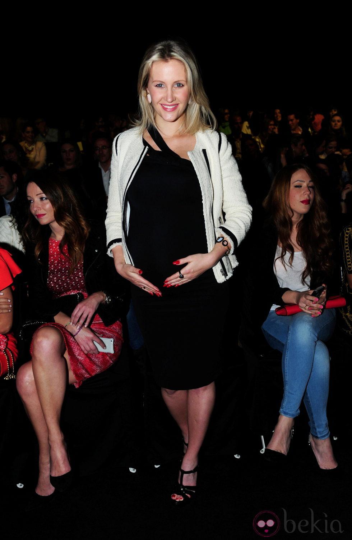 Lorelei Tarón presume de embarazo en la Barcelona Bridal Week 2013 ...