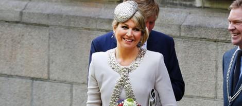La Reina Máxima de Holanda durante su visita a Groningen