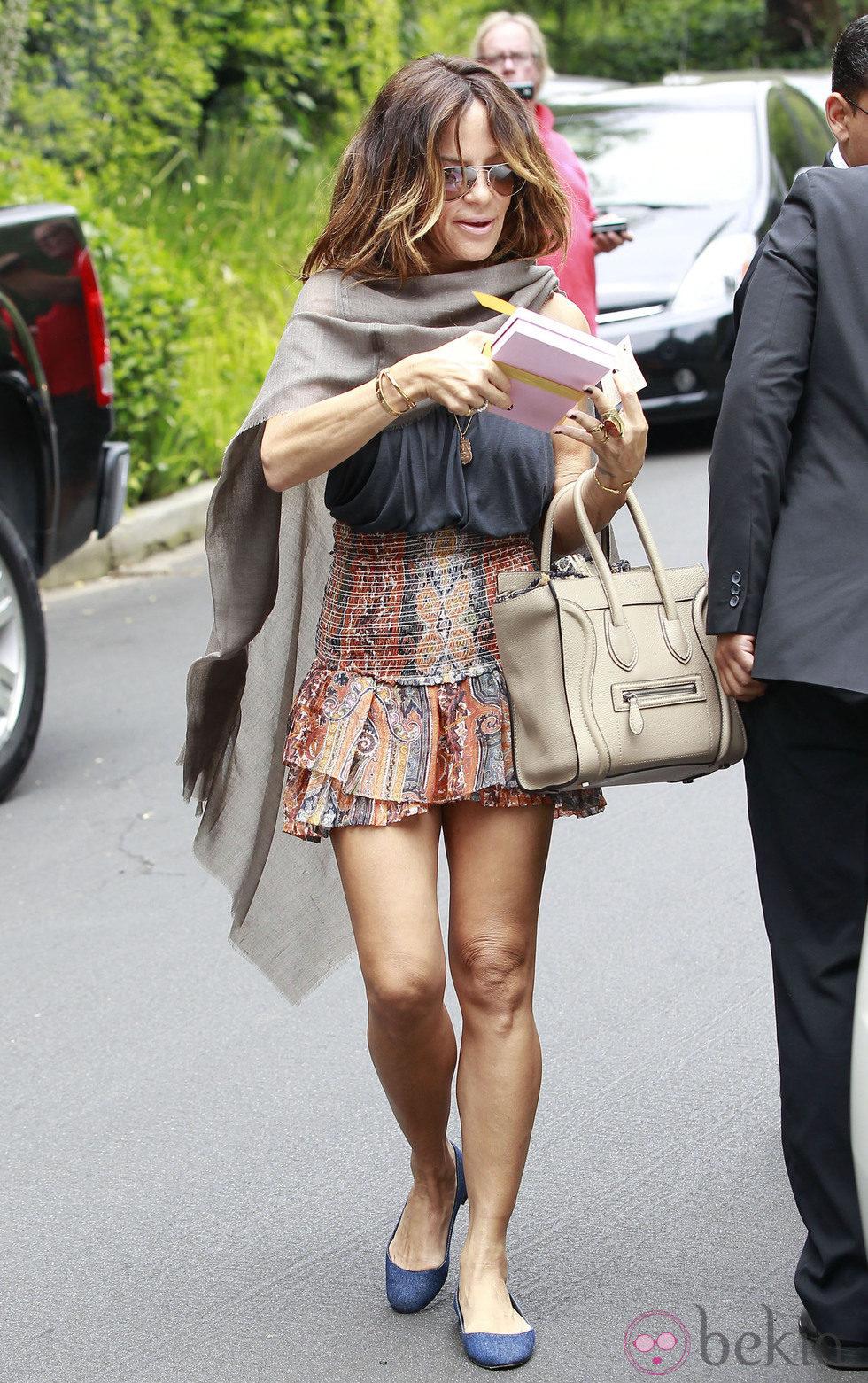 Robin Antin acude al Baby Shower de Kim Kardashian en Beverly Hills