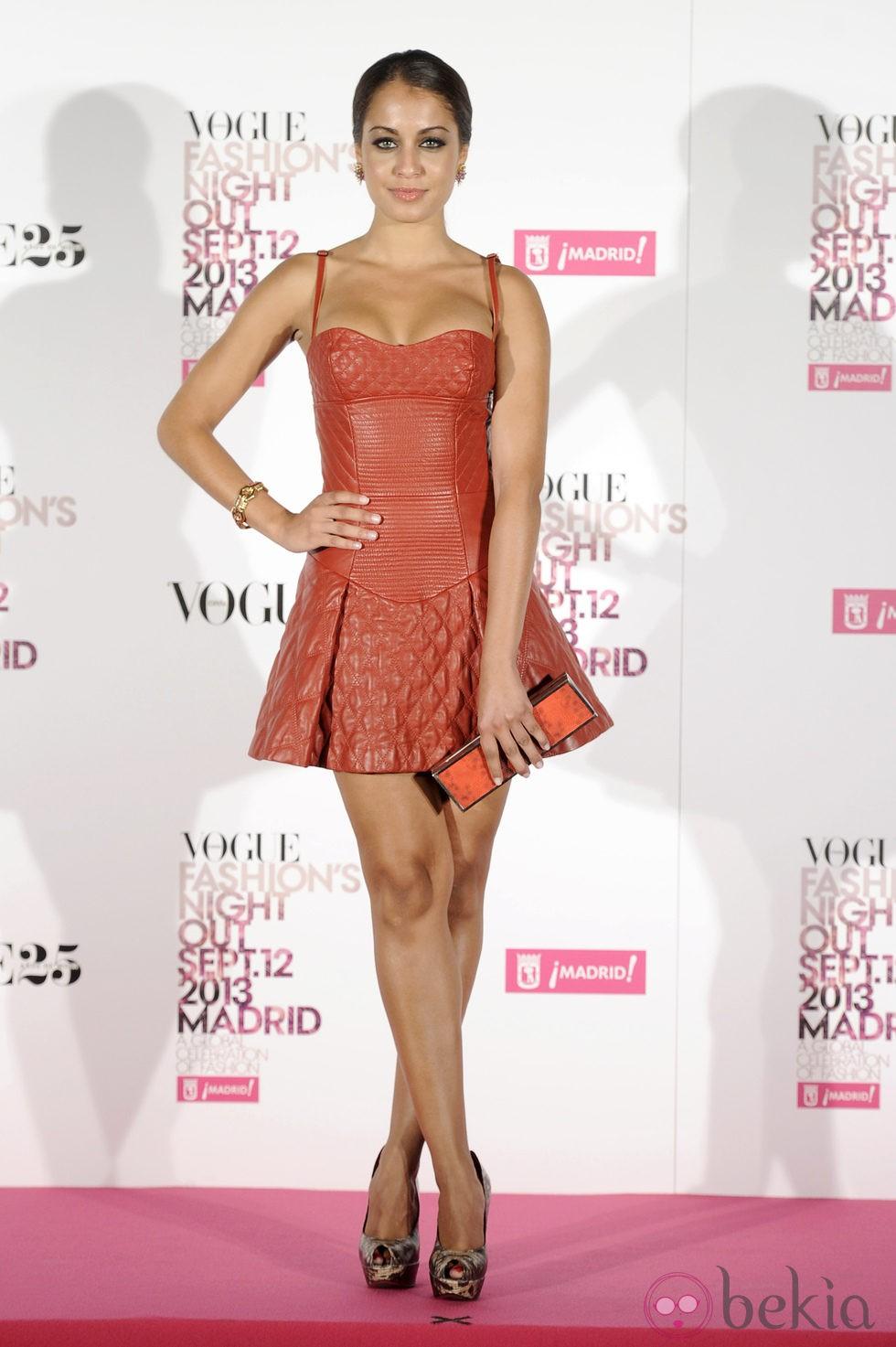 Hiba Abouk En La Vogue Fashion 39 S Night Out 2013 Fotos En Bekia