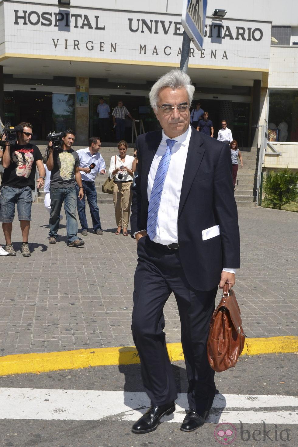 Enrique Trebolle, abogado de José Ortega Cano