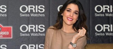 Adriana Ugarte en un acto promocional de relojes