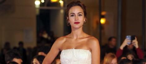 Megan Montaner en el estreno de 'Por un puñado de besos' en el Festival de Málaga 2014