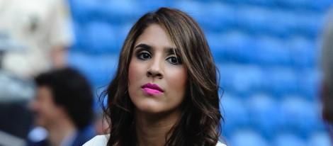 Daniela Ospina en la presentación de James Rodríguez como jugador del Real Madrid - 61372_daniela-ospina-presentacion-james-rodriguez-jugador-real-madrid_m