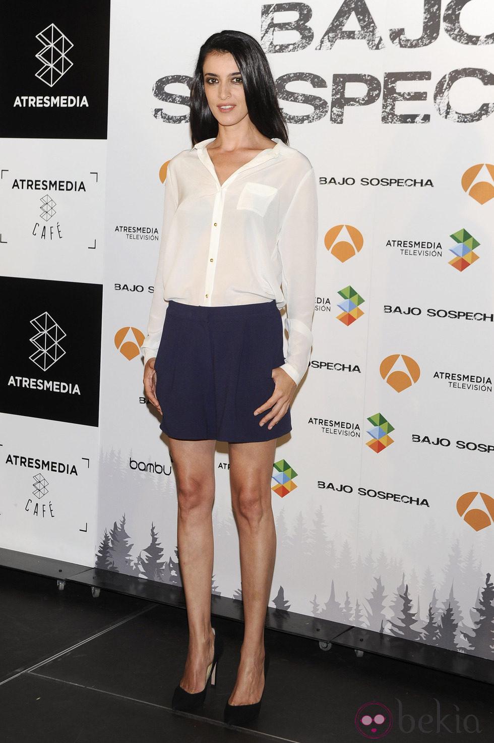 Blanca romero en la presentaci n del rodaje de 39 bajo for Blanca romero velvet