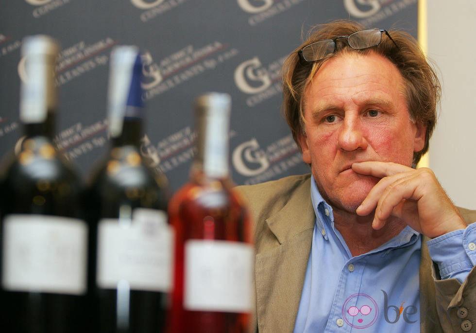 Gerard Depardieu en un...