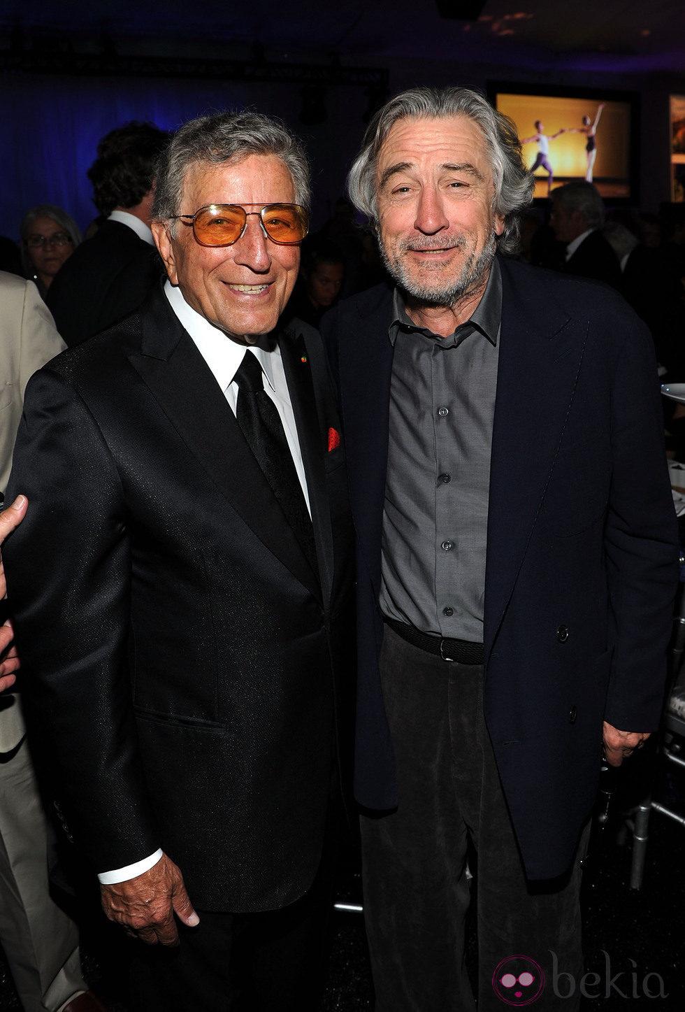 Robert De Niro y Tony ...